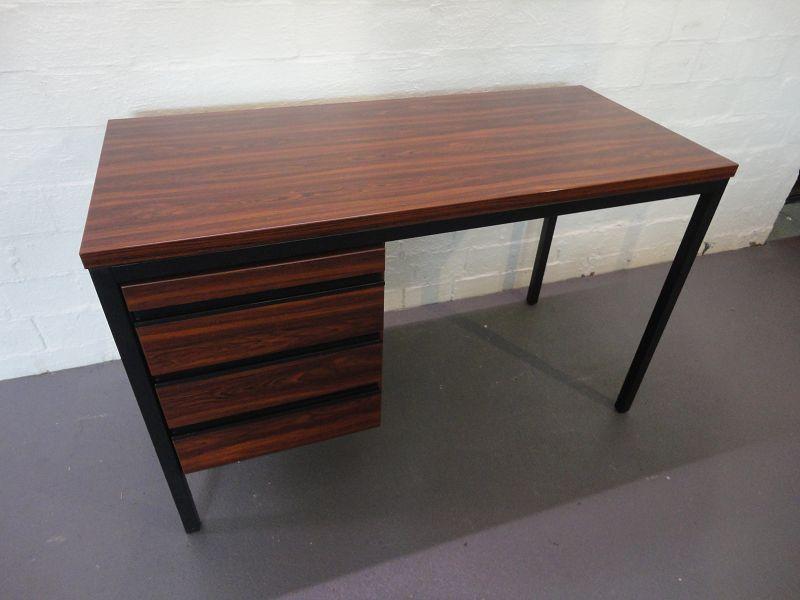 febr palisander schreibtisch rosewood desk eames panton. Black Bedroom Furniture Sets. Home Design Ideas